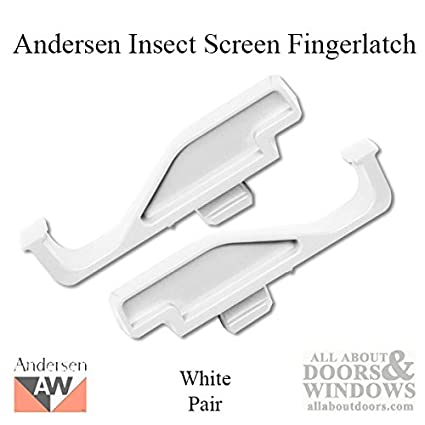 Andersen Full Screen Latch in White Color