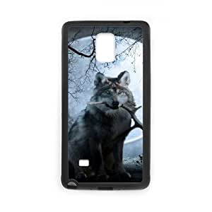 Wolf CUSTOM Cell Phone Case for Samsung Galaxy Note 4 LMc-23475 at LaiMc