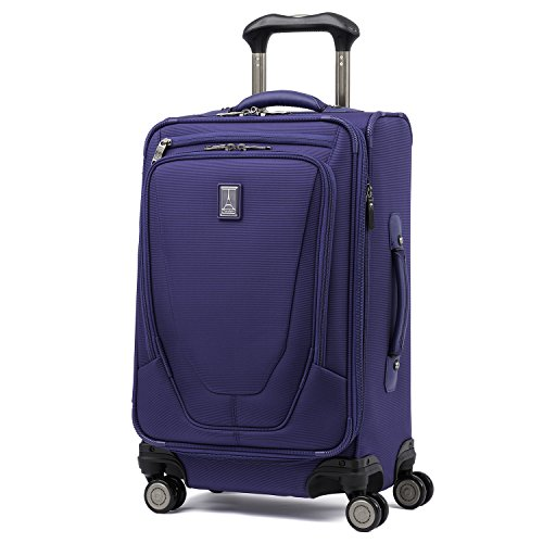Travelpro Luggage Crew 11 21' Carry-on Expandable Spinner w/Suiter and USB Port, Indigo