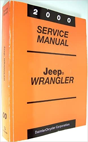 Jeep tj fctory service manual 2000 2001 free download repair.