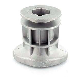 Soporte de hoja Efco para modelos lr47tb, lr47tbq, lr53tbx. sustituye a origen: 66030256–orificio central: 22,2mm H: 69mm Profundidad del Puit: 41,5mm