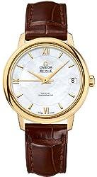 Omega De Ville Prestige Automatic Co-Axial Yellow Gold 33 MM - 424.53.33.20.05.002