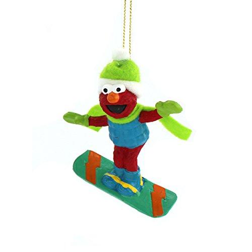 Sesame Street Adler Ornaments Snowboard
