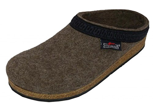 Wool Womens Clogs (Stegmann Women's Wool Clog, Heather 9 M)