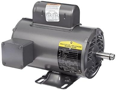 Baldor L1307 General Purpose AC Motor, Single Phase, 56 Frame, Open on