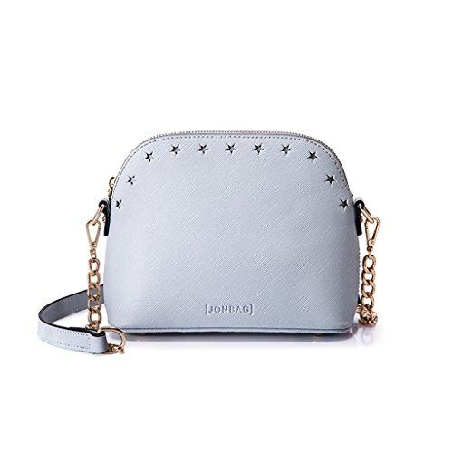 Petite chaîne Mini Sac à bandoulière Messenger Bag Sac à main Paquet Coquille Forfait Hollow Design