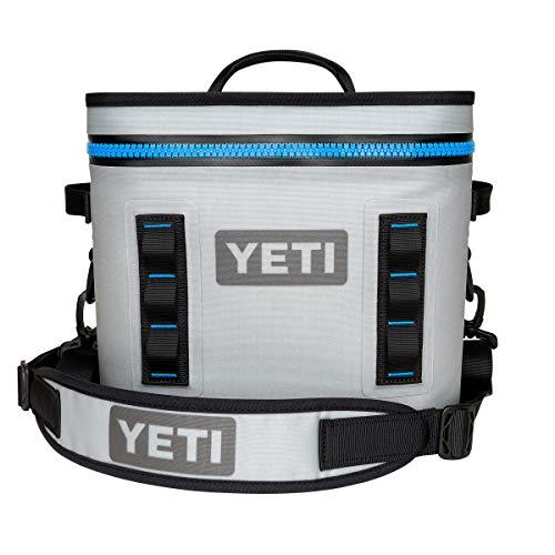 YETI Hopper Flip 12 Portable Cooler, Fog Gray/Tahoe Blue