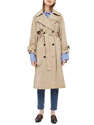 Double Breasted Long Coat - 9