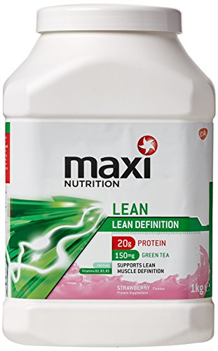 MaxiNutrition Lean Definition Protein Shake Powder, Strawberry, 1 kg