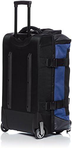 AmazonBasics Ripstop Rolling Wheeled Duffel Bag