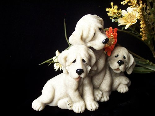"""Quarry Critters - Dogs """"Petie, Pepe, Pooch"""" for sale  Delivered anywhere in USA"""