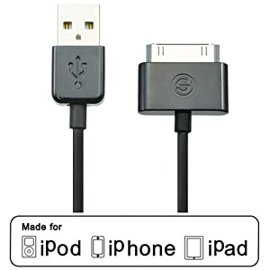 4 ft cable Belkin Swivel AC Travel Home Charger for Apple iPhone 4S 4 3GS iPod