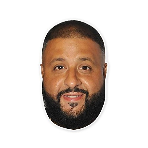 Happy DJ Khaled Mask - Perfect for Halloween, Masquerade, Parties, Events, Festivals, Concerts - Jumbo Size Waterproof for $<!--$15.95-->