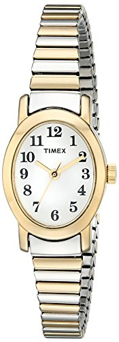(Timex Women's T2M570 Cavatina Two-Tone Stainless Steel Expansion Band Watch)