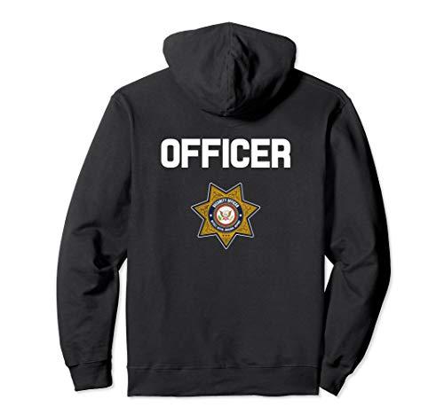 Security Officer Enforcement Badge Hoodie Police Guards