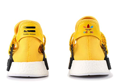 pretty nice 4ff99 bfcef adidas Mens Pharrell Williams X Human Race NMD Yellow/Black-White Fabric  Size 6.5