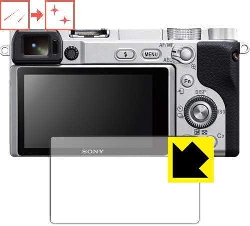 PDA工房 SONY α6400/α6500/α6300/α6000 キズ自己修復 保護 フィルム 光沢 日本製