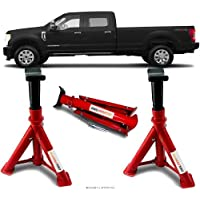 Par Cavalete Ford F250 Cabine Dupla Automotivo 4 Toneladas Com 3 Regulagens e Trava