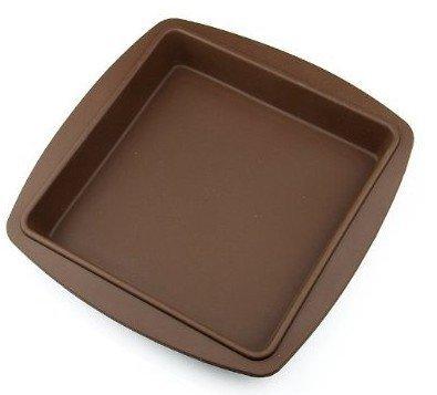 DIVISTAR Stampo in Silicone per Torte Forma Quadrata