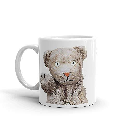 Daniel Striped Tiger - Mr Rogers Mug 11 Oz White Ceramic