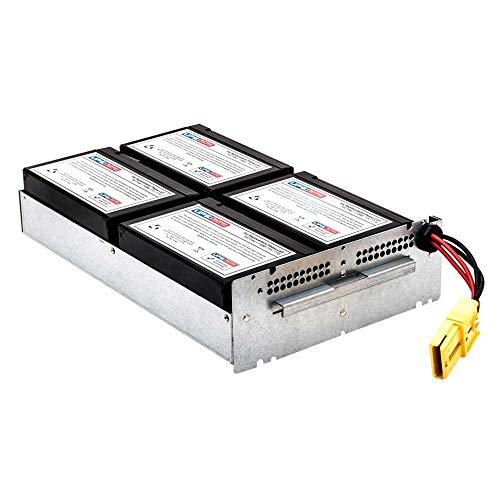 SMT1500RMI2U - New RBC133 Battery Pack for APC Smart UPS 1500VA Rack Mount 2U 230V SMT1500RMI2U - Compatible Replacement by UPSBatteryCenter ()