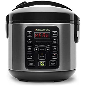 Amazon.com: MINI TIM3 MACHIN3 8-Cup Rice Cooker, Slow