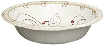 SOLO HWB12SYM Symphony Heavy Weight Paper Bowl, 12 oz. Capacity (8 Sleeves of 125)