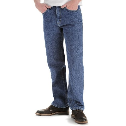 LEE Men's Relaxed Fit Straight Leg Jean, Pepperstone, 35W x 30L
