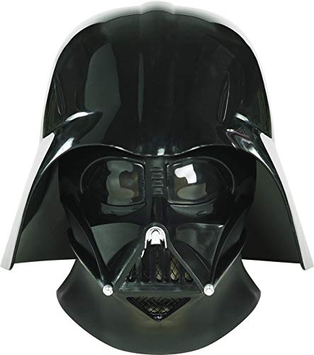 Star Wars Ep3 Darth Vader Collectors Helmet,Black,One Size Costume -