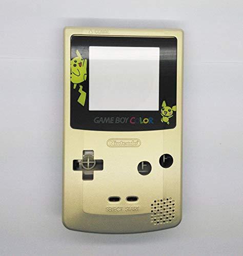 (FidgetKute Gold Color Full Housing Shell for Nintendo Game boy Color GBC OEM Repair )