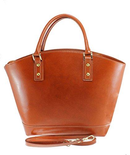 CTM Italie véritable 100 italien Fabriqué cuir Classic style en de Cuir Bag élégante Ladies 35x29x15cm Mode 6q6Ur