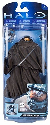 Halo 2014 Master Chief With Cloak Action Figure by MCFARLANE