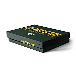 Green Bay Packers Xbox One X Console Skin - Green Bay Packers Team Motto | NFL X Skinit Skin by Skinit