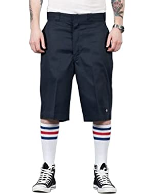 13'' Flat Front Work Short - Dark Navy Dickies42283 Classic Mens Shorts