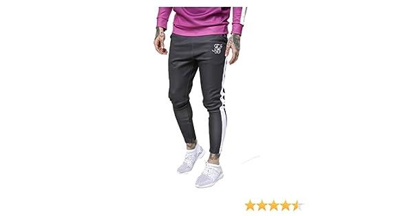 SikSilk Vapour Track Pantalones negro/blanco Negro Negro (XL ...