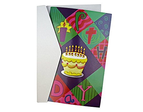Personalized Recordable Birthday Greeting Card with Envelope Voice Message Card