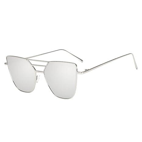 Gafas irregulares vintage unisex Mujer Hombre polarizadas Gafas para  deportes al aire libre Gafas de verano a46f132c610a
