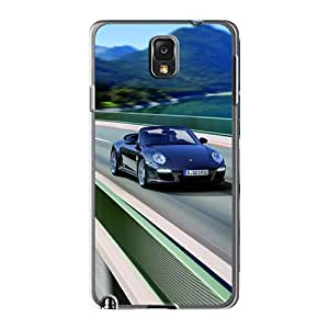 Premium Galaxy Note 3 Cases - Protective Skin - High Quality For Black Porsche 911 Black Edition