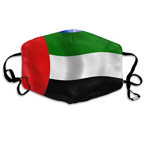 Unisex Fashion Mask Flag of The United Arab Emirates Adult Dust Allergy Influenza Mask Ski Bike Half Mask -
