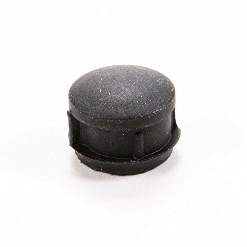 - 318017800 Range Clock Timer Knob (Black) Genuine Original Equipment Manufacturer (OEM) Part Black