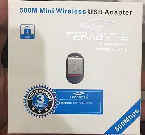 Terabyte Mini Wireless USB Adapter  Black