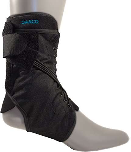 Darco Web Ankle Brace with Bungee Closure Size Medium -Womans shoe 9.5 -11 Mens -7.5 - 10 by Darco (Bungee Closure)