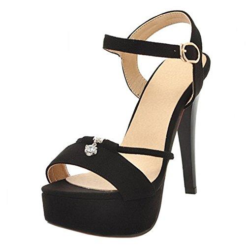 Sandales Coolcept Talon Les Mode Femmes À Noir Femmes Les WgnvBqU