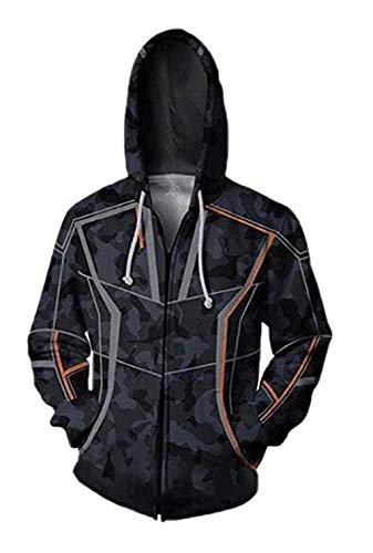 Dark Eyes 3D Mens Hoodie Jacket Superhero Halloween Cosplay Costume for $<!--$32.99-->
