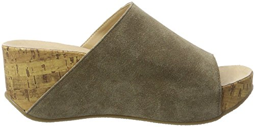 Andrea Conti 1541501 - Mules Mujer Marrón (Taupe)