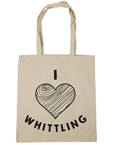Natural Gym Love HippoWarehouse Beach Tote I Bag 42cm x38cm Whittling Shopping 10 litres gqOCgp7w