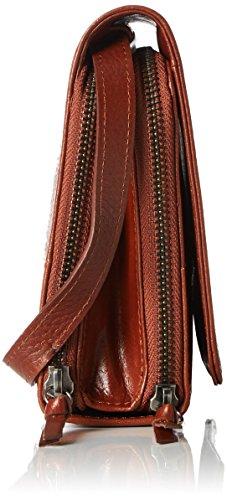 Eve Bag Caviar body Republiq Women's Brown Cross cognac Royal Raf t7wFWR
