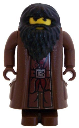 LEGO Harry Potter Minifigure Rubeus Hagrid - Yellow Flesh (2001)