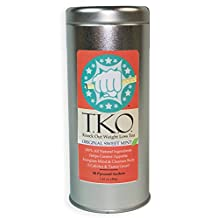 "T.K.O. ""Knock Out"" Weight Loss Tea, All Natural Dieter's Tea, Boosts Metabolism, Cleanses Body, Aids Digestion, Great Addition to Any Diet (Mint)"
