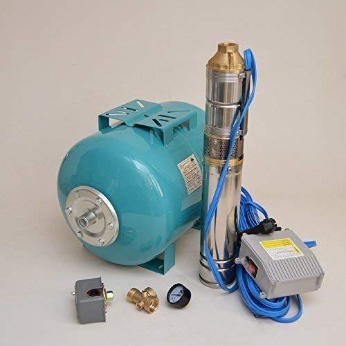 Acero inoxidable Casa de agua caldera Membrana 50 litros.